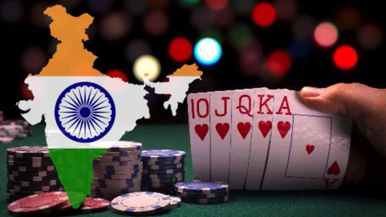 India online poker gaming market
